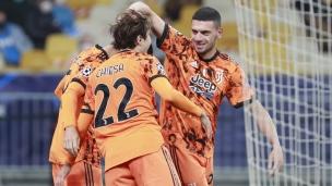 Dynamo Kiev 0 - Juventus 2