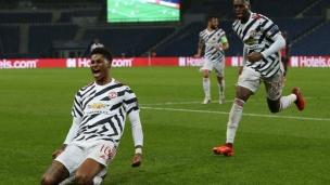 Paris SG 1 - Manchester United 2