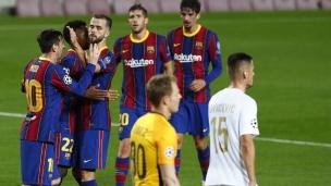 FC Barcelone 5 - Ferencvaros 1