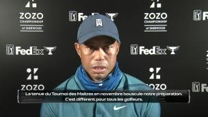 Woods veut retrouver la victoire au Championnat Zozo
