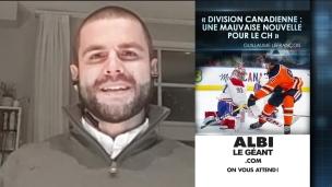 Division canadienne : mauvaise nouvelle pour le CH!