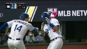 1er coup sûr des Dodgers, un circuit!