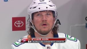 Julien enthousiaste envers son équipe