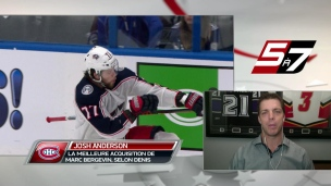Josh Anderson était un besoin criant