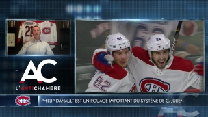 Phillip Danault a encore sa place