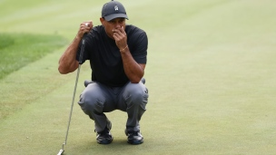 1re ronde difficile pour Tiger
