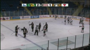 Mooseheads 3 - Eagles 5