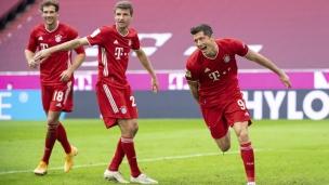 Bayern Munich 5 - Francfort 0