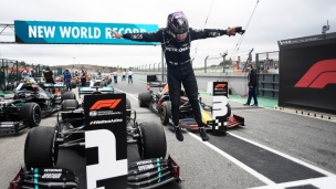 Record de Hamilton avec une 92e victoire