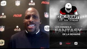 Conseils fantasy en vue de la 8e semaine d'activités dans la NFL