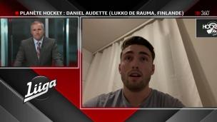 Daniel Audette se plait en Finlande