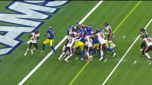 Brown et les Rams poussent la pile!