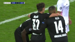 Monchengladbach 2 - Real Madrid 2
