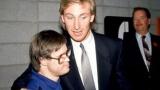 Joey Moss et Wayne Gretzky
