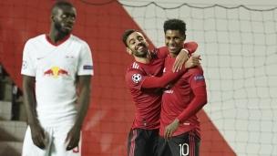 Manchester United 5 - Leipzig 0