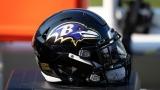 Un casque des Ravens de Baltimore