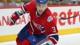 Ryan O'Byrne dans l'uniforme du Canadien de Montréal