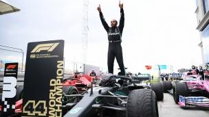 Lewis Hamilton remporte son 7e championnat du monde