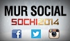 Le mur social Sotchi
