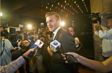 De nouveaux actionnaires avec Beckham