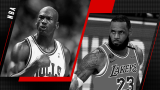 Michael Jordan et LeBron James