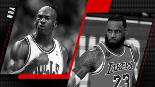 Michael Jordan et LeBron James