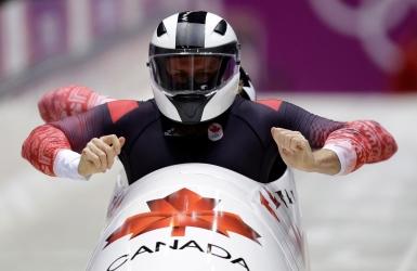 Bobsleigh : les Canadiens au pied du podium