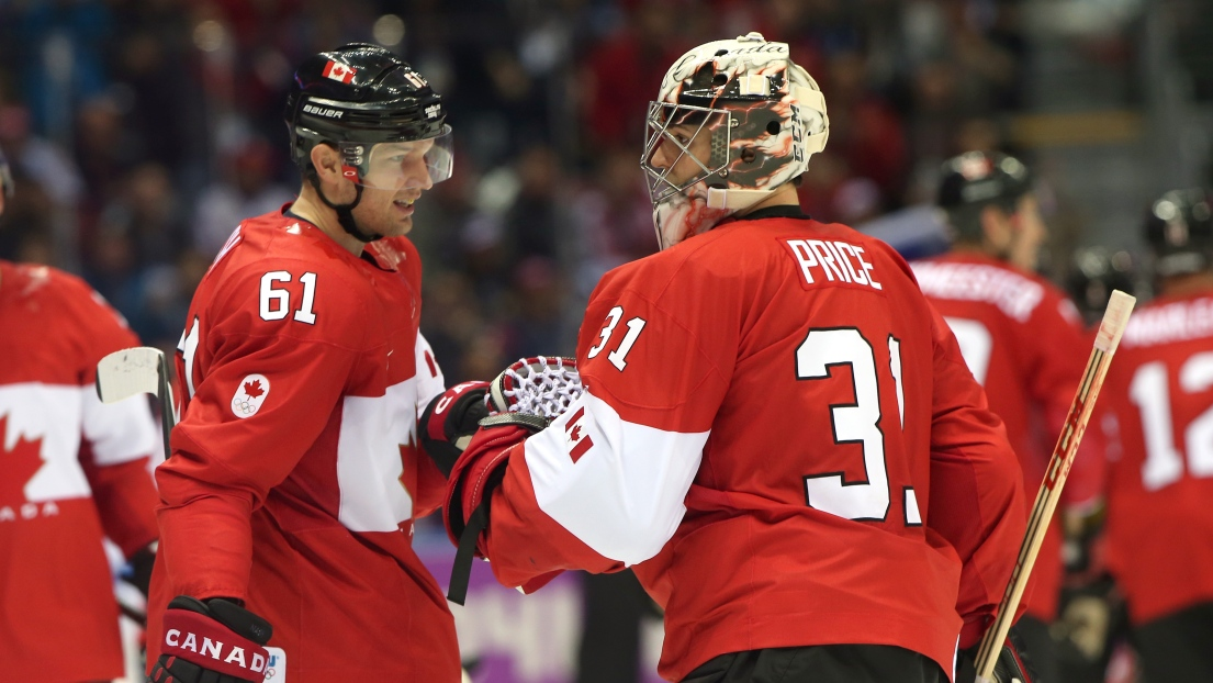 Carey Price et Rick Nash