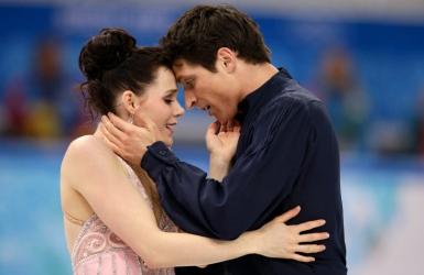 Tessa Virtue et Scott Moir brisent la glace