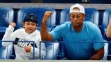 Tiger et Charlie Woods