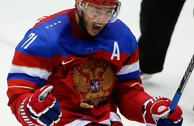 La Russie visera l'or olympique au hockey