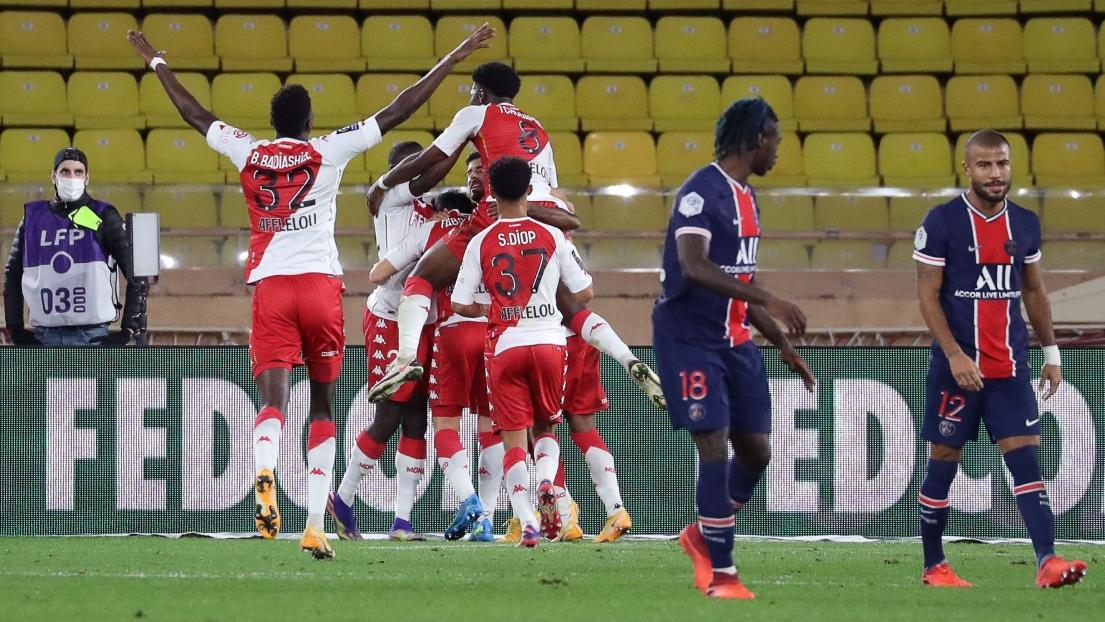 Monaco célèbre contre le PSG