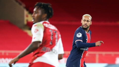 Neymar a été suspendu après son rouge