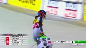 Vlhova remporte le 1er slalom de la saison