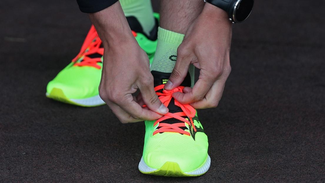 Des souliers de course