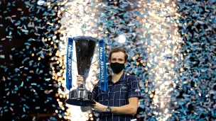 Medvedev champion des Finales de l'ATP