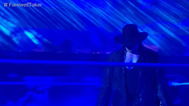 The Undertaker lors des Survivor Series