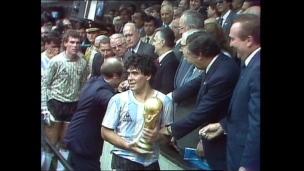 Maradona et les Argentins, Champions du Monde