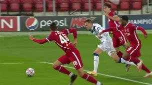 Atalanta 2 - Liverpool 0