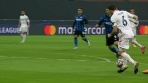 Real Madrid 2 - Inter Milan 0