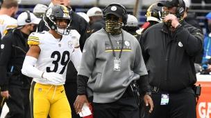 Des Steelers... pas de bonne humeur!