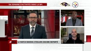 Le match Ravens-Steelers encore reporté