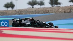 Hamilton domine les essais à Bahrein