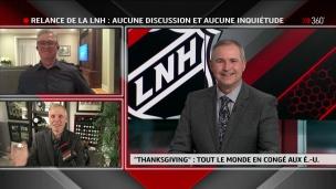 LNH : Aucune discussion et aucune inquiétude