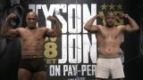 Mike Tyson et Roy Jones