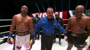 Premier verdict nul de la carrière de Jones et Tyson