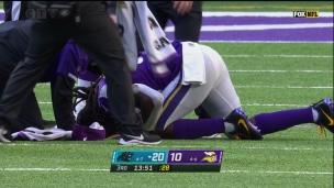 Dalvin Cook blessé sur un revirement?