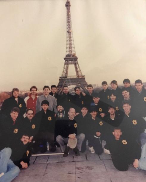 Les Bisons de Granby à Paris en décembre 1985