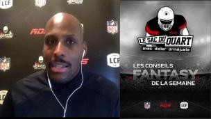 Conseils Fantasy en vue de la 13e semaine dans la NFL