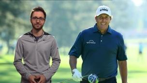 Mickelson, aussi bon sur IG qu'au golf